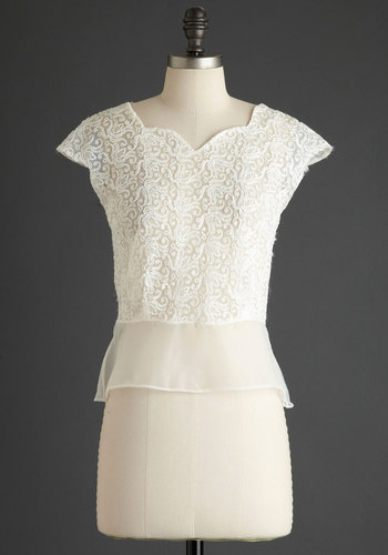 Vintage Rehearsal Dinner Party Top