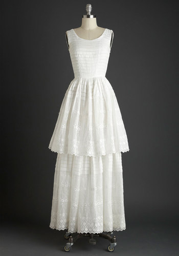 Vintage Apple of My Eyelet Dress