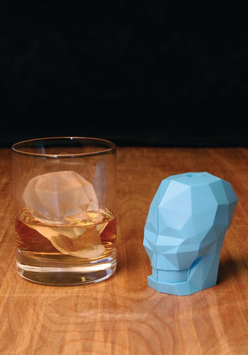 Talk Your Head Off Ice Cube Mold by Gama-Go - Blue, Dorm Decor