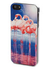 Pink Outside the Box iPhone 5/5S Case - Multi, Print with Animals, Vintage Inspired, 80s