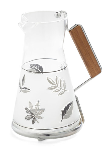 Vintage You Won't Leaf Thirsty Pitcher
