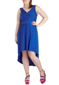 Elegance in the Afternoon Dress in Plus Size