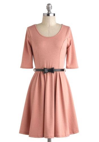 Abiding Beauty Dress in Pink