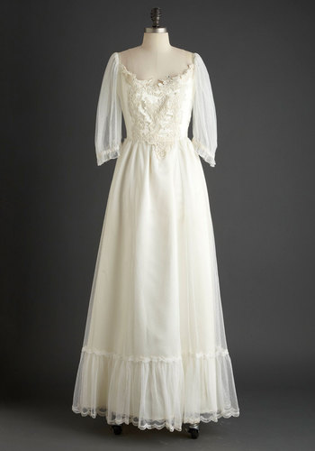 Vintage Fairytale Ending Dress