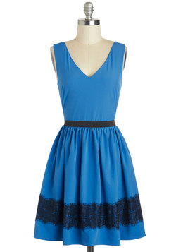 Azure Allure Dress