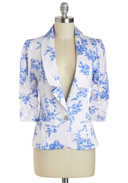Toile Time Favorite Blazer