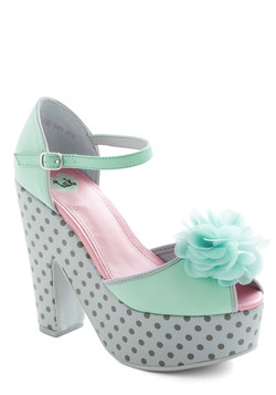 After Hours Flower Heel