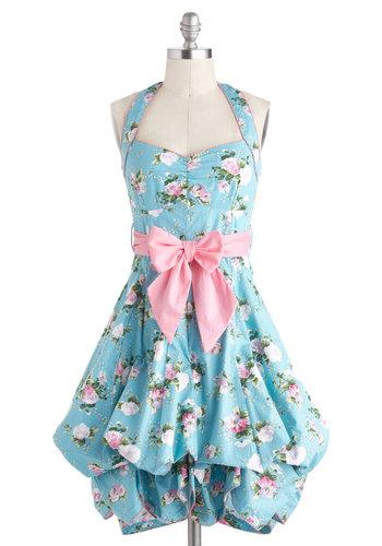Indigo Gardens Dress in Pastel
