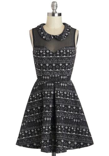 Graceful Geometry Dress