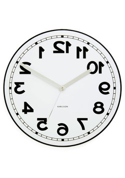 Backwards to the Future Clock