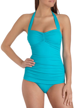Bathing Beauty One Piece in Teal