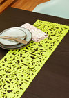 Tablescape Architect Table Runner - Green, Daytime Party