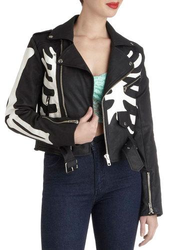 A Skeleton of Style Jacket