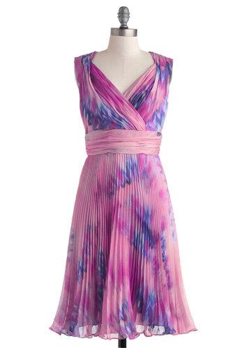 Violets Get Away Dress