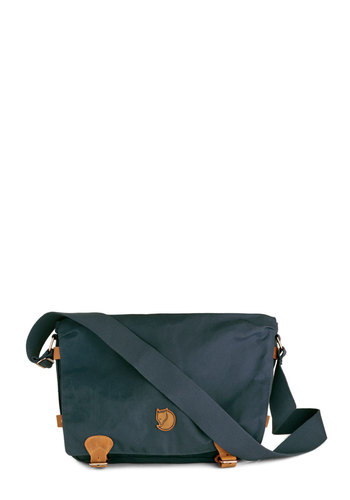 Intrepid Traveler Bag in Navy by Fjällräven - Blue, Solid, Scholastic/Collegiate, International Designer, Leather, Casual, Travel