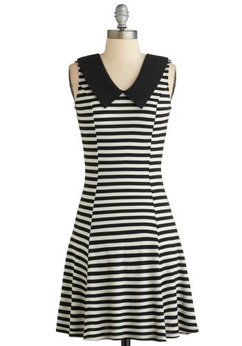 Stripe in the Name of Love Dress