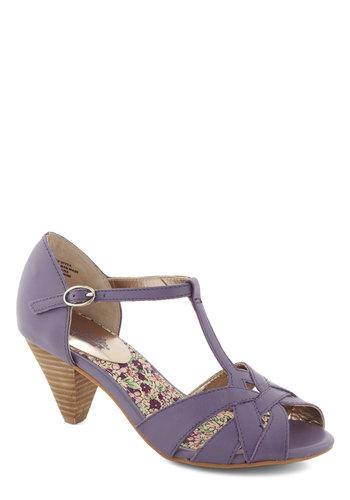 Found My Way Heel in Lavender