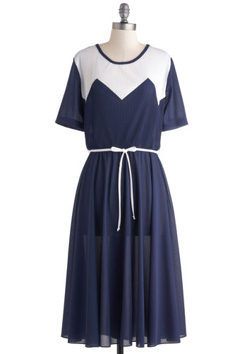 Vintage Blue Are Invited Dress