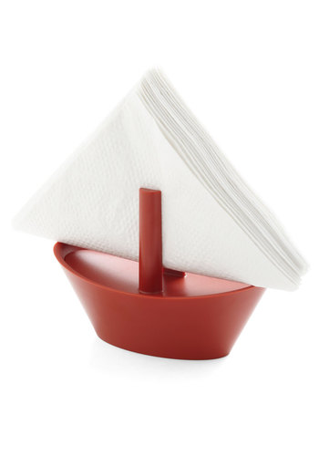 Spill Seeker Napkin Holder by Gama-Go - Red, Nautical