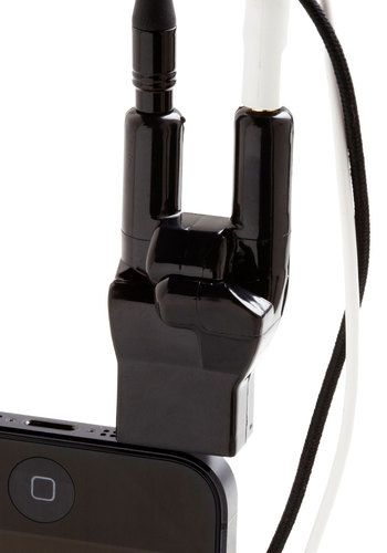 Ready to Rock Headphone Splitter by Gama-Go - Black, Music, Travel, Good