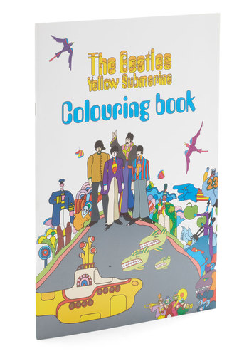 The Beatles: Yellow Submarine Coloring Book - Multi, Music