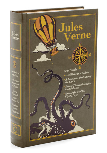 Collected Works of Jules Verne - Travel, Scholastic/Collegiate, Beach/Resort, Good, Nautical