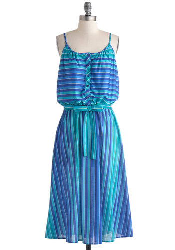Vintage Salt Watercolors Dress