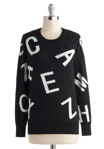 Alpha-better Yet Sweater