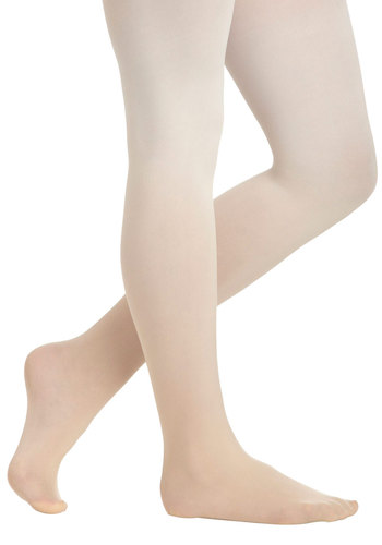 My Way or the Ombre Tights in Apricot - Ombre, White, Orange