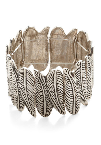 The Best of Fronds Bracelet - Silver, Fall, Silver