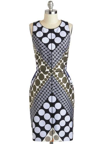 Stunning in Circles Dress
