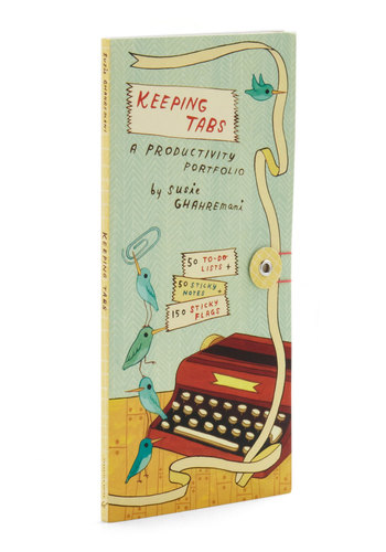 Keeping Tabs Productivity Portfolio by Chronicle Books