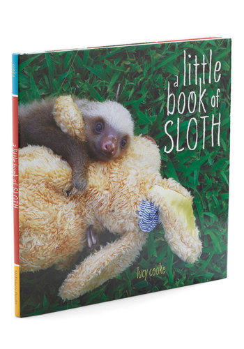 A Little Book of Sloth - Good, Under $20, Critters