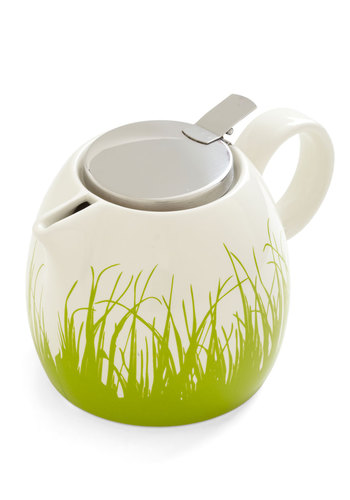 Rolling in the Steep Teapot - Green, White, Daytime Party, Good