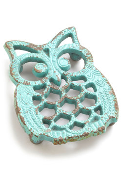 Cute Critter Fashion - Hoot Stuff Trivet