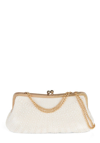 Vintage Pearl Wonder Clutch