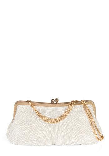 Vintage Pearl Wonder Clutch