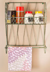 Shelf Improvement Wall Rack - Green, Rustic