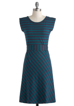 Riviera Romance Dress in Teal