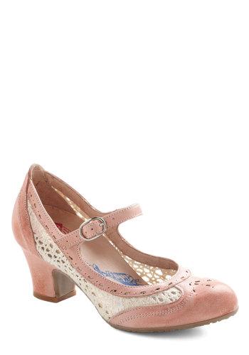 Delightful Footsteps Heel