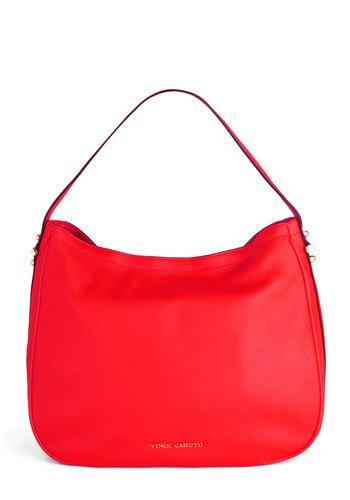 Cayenne Peppy Bag - Red, Solid, Leather, Party, Luxe
