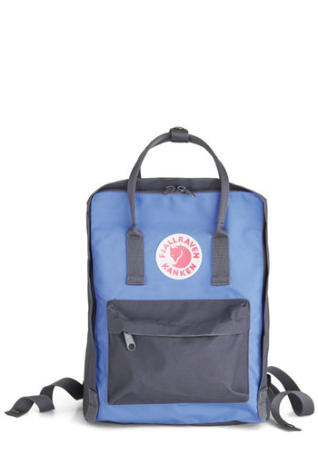 Wherever You Wander Backpack in Steel by Fjällräven - Blue, Grey, Solid, Scholastic/Collegiate, International Designer, Travel, Variation, Beach/Resort