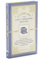 Let's Bring Back Lost Language Edition