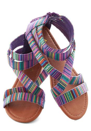 Art Camp Counselor Sandals