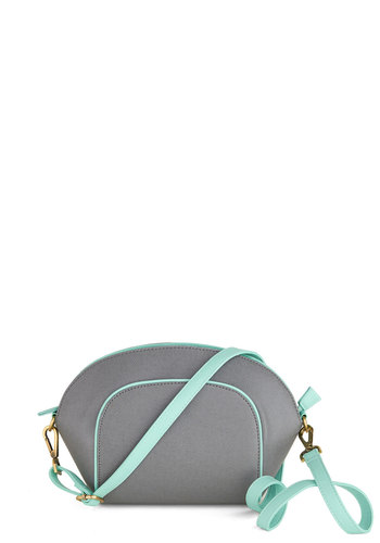 Afternoon with the Artist Bag - Grey, Mint, Solid, Trim, Pastel