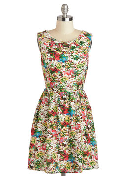 Cutout in the Garden Dress