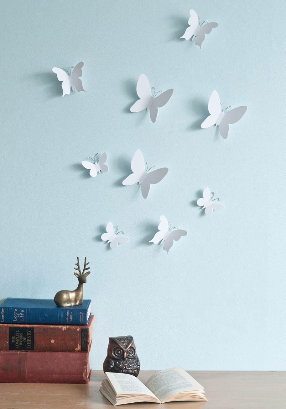Marvelous metamorphosis wall decor set mod retro vintage for Separation decorative entre 2 pieces