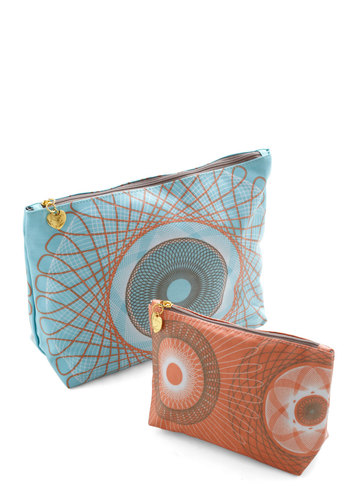 Swirl Talk Toiletry Bag Set - Multi, Travel, Boudoir