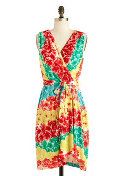 Flowers of the Rainbow Dress