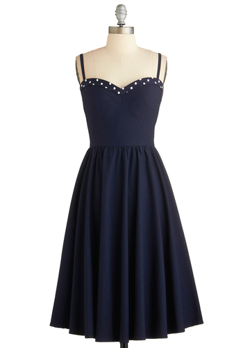 The Neyla Dress in Bleu from ModCloth